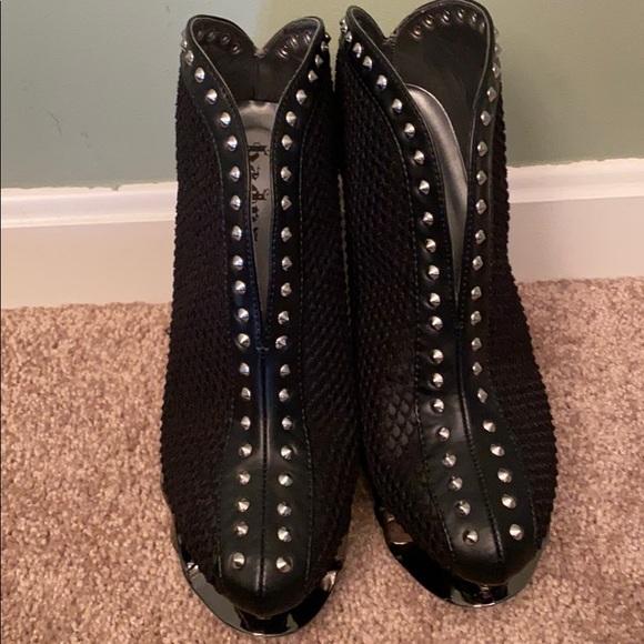 Hades Shoes - NWOT Black Vegan leather slip on boot